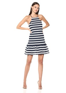 Trina Trina Turk Women's Rio Drop Flounce Dress