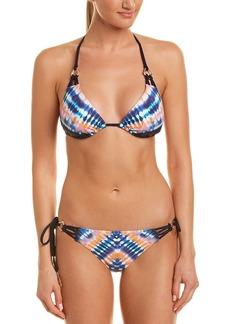 Trina Turk 2Pc Triangle Slider Bikini Set