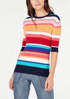 Trina Turk Agent Cotton Striped Sweater