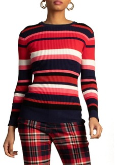 Trina Turk Agent Striped Sweater