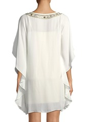 Trina Turk Anissa Double-Georgette Kaftan Dress