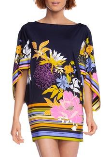 Trina Turk Bal Harbour Flutter Sleeve Tunic Dress