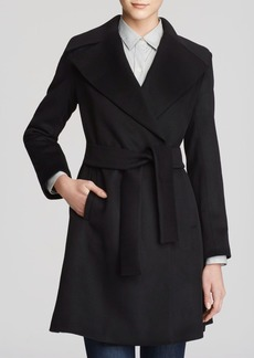 Trina Turk Beverlee Belted Fit & Flare Coat