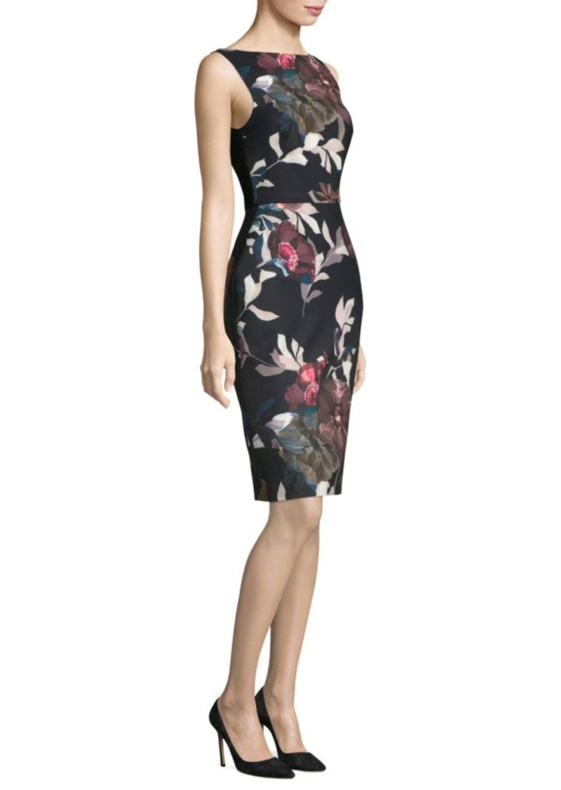 Trina Turk Beverly Faye Smooth Woven Knee-Length Dress