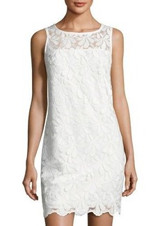 Trina Turk Bisitti Embroidered Shift Dress