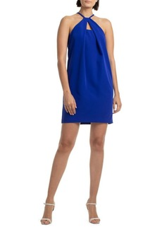 Trina Turk Bold Sleeveless Halter Dress