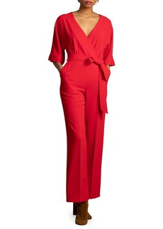 Trina Turk Carmel Crepe High Valley Jumpsuit