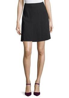 Trina Turk Carwash-Hem Crepe Skirt