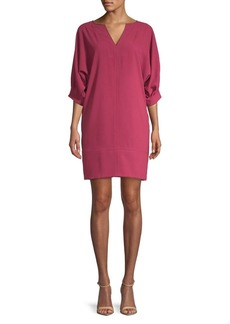 Trina Turk Casa Mexico Susurro Quarter-Sleeve Dress