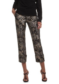 Trina Turk Cocktail Soiree Banshee Floral Pants