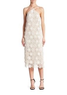 Trina Turk Conga Lace Halter Dress