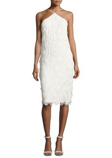 Trina Turk Conga Sleeveless 3D Lace Cocktail Dress