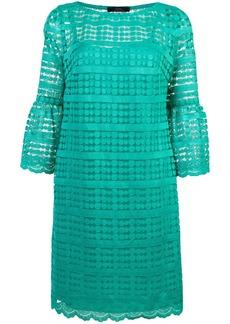 Trina Turk crochet-lace shift dress - Green