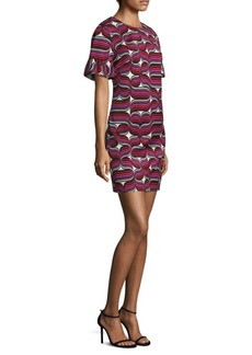 Trina Turk Darling Bell-Sleeve Dress