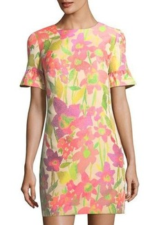 Trina Turk Darling Floral-Print Shift Dress