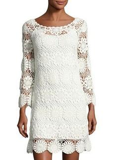 Trina Turk Devora Crochet-Lace Dress