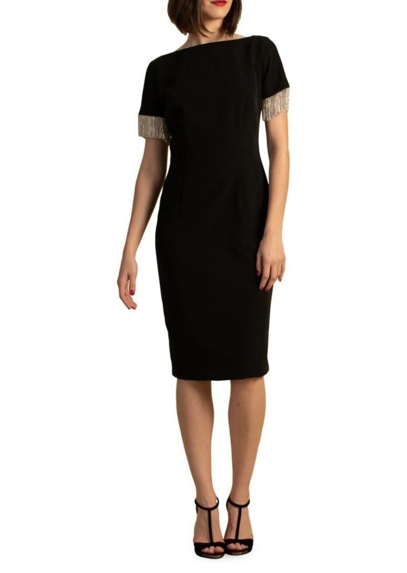 Trina Turk Eastern Look Hinoki Sheath Dress