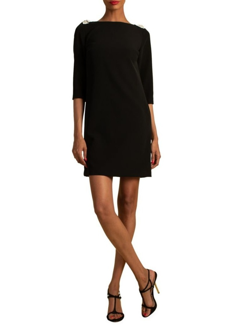 Trina Turk Eastern Luxe Gora Mini Shift Dress