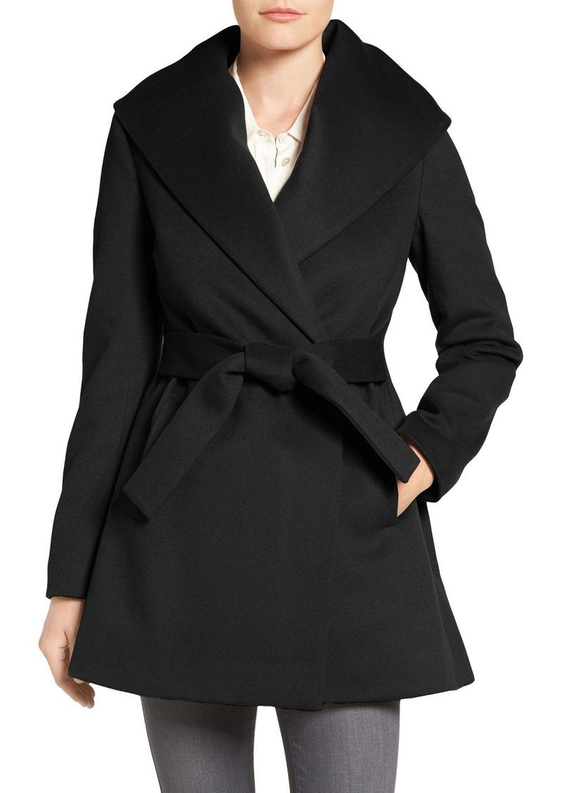 Trina Turk Trina Turk 'Emma' Wool Blend Wrap Coat (Regular ...