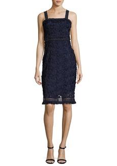 Trina Turk Energetic Sleeveless Lace Sheath Dress