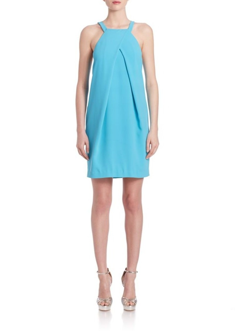 Trina Turk Felisha Pleated Halterneck Dress