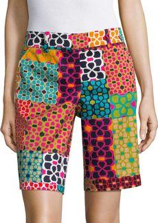 Trina Turk Floral-Print Shorts