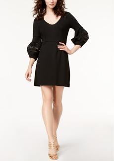 Trina Turk Gianna Crochet-Trim Sheath Dress