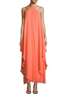 Trina Turk Ginger Silk Chiffon Maxi Dress
