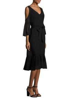 Trina Turk Grade Dame Cold-Shoulder Dress