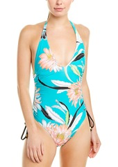 Trina Turk Halter One-Piece