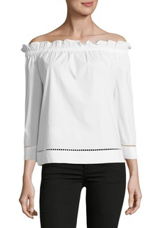 Trina Turk Hanalei Off-The-Shoulder Top