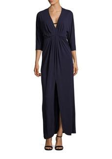 Trina Turk Haute Havana Slit-Front Dress