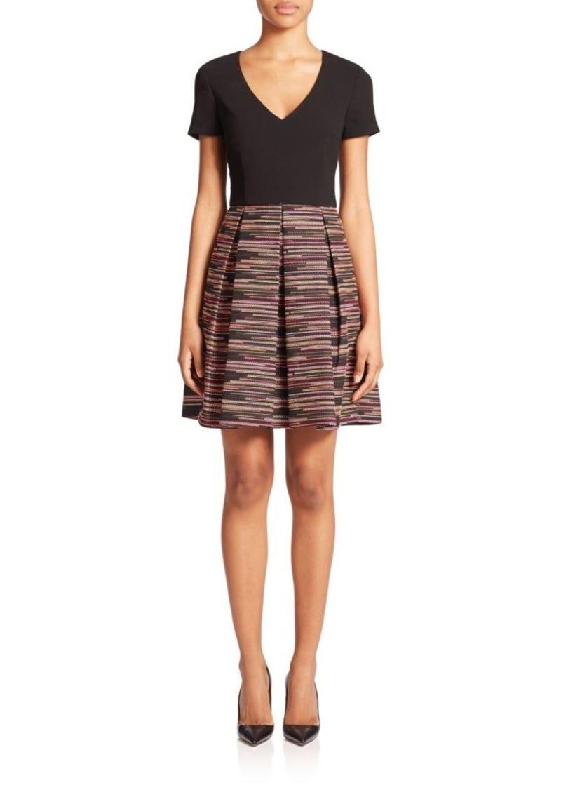 Trina Turk Jacquard Combo Dress