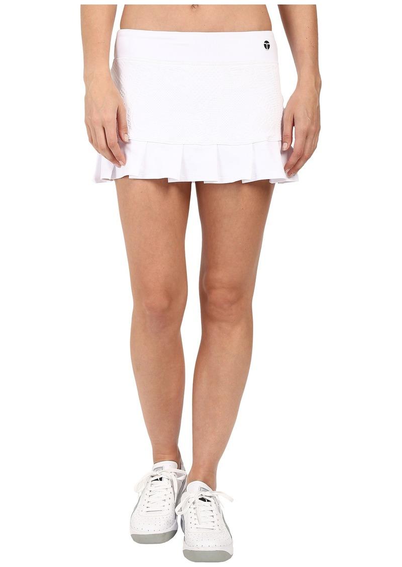 Trina Turk Jacquard Solids Tennis Skirt