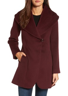 Trina Turk Jemma Shawl Collar Coat (Regular & Petite)
