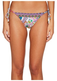 Trina Turk Jungle Beach Tie Side Hipster Bikini Bottom
