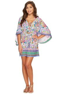 Trina Turk Jungle Beach Tunic Cover-Up