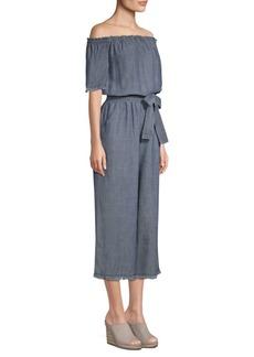 Trina Turk Key Linen Jumpsuit