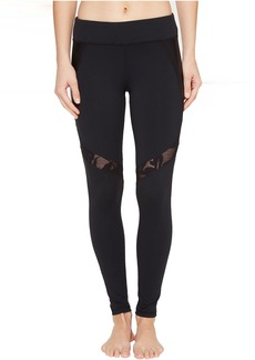 Trina Turk Lace and Shine Leggings