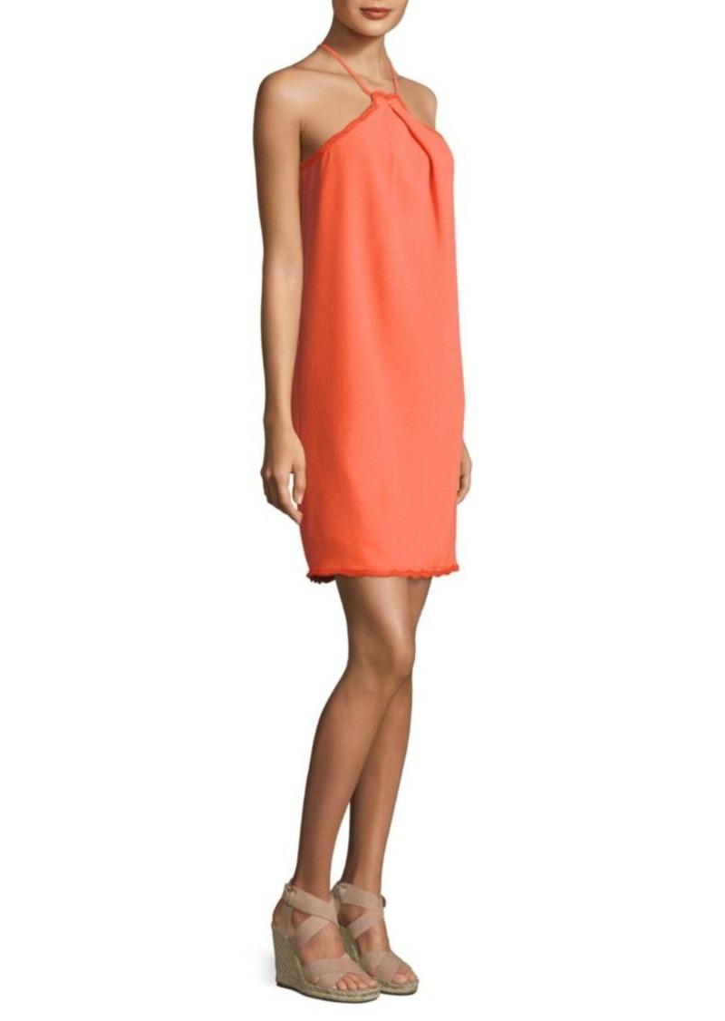 470b7420 Trina Turk Trina Turk Lace Trim Halter Dress   Dresses