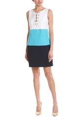 Trina Turk Lace-Up Shift Dress