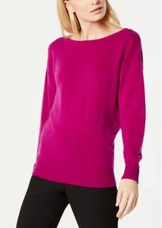 Trina Turk Lemon Drop Low-Back Sweater