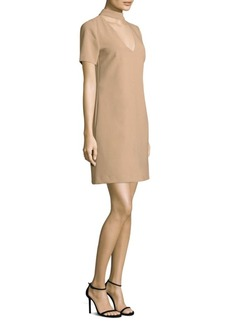 Trina Turk Luxe Drape Mini Dress