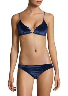 Trina Turk Midnight Bikini Top