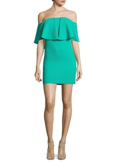 Trina Turk Miradora Off-The-Shoulder Mini Dress