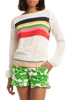 Trina Turk Multicolor Striped Knit Sweater