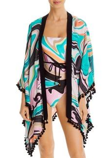 Trina Turk Nazare Kimono Swim Cover-Up
