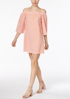 Trina Turk Neville Off-The-Shoulder Shift Dress