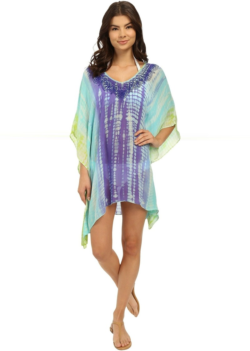Trina Turk Nomad Tie-Dye Tunic Cover-Up