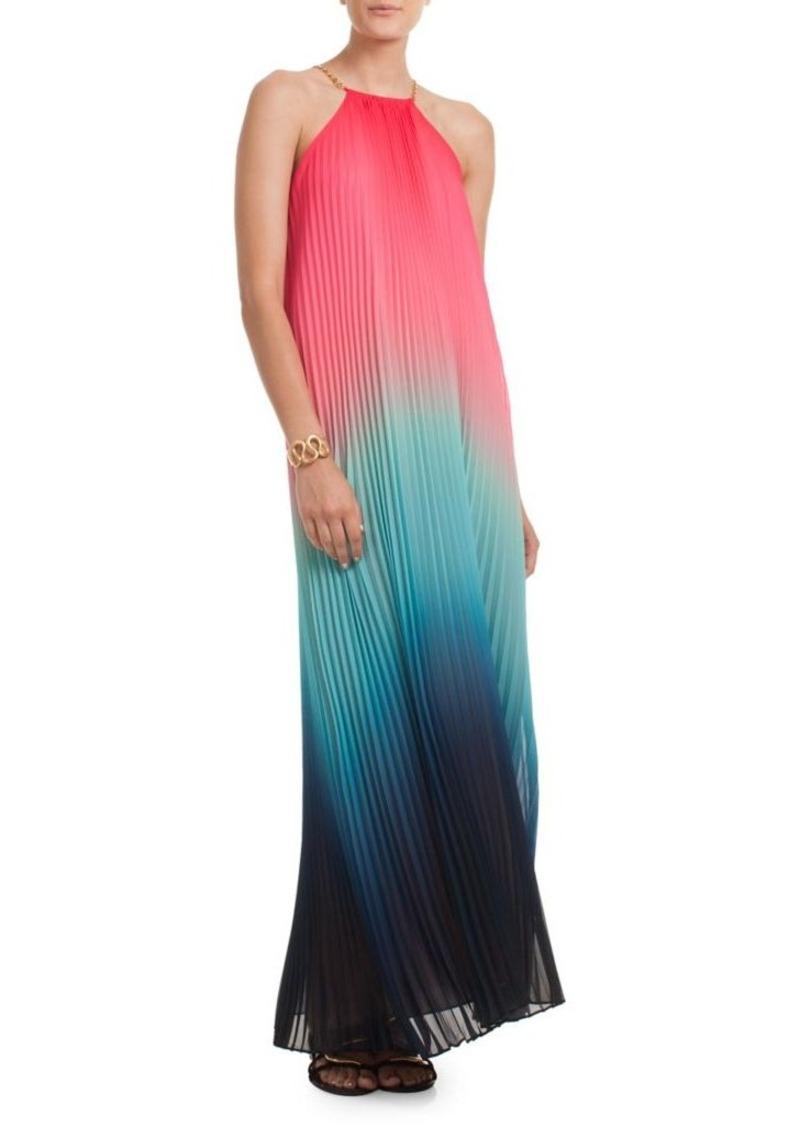 b203484fae Trina Turk Trina Turk Ombre Halterneck Maxi Dress